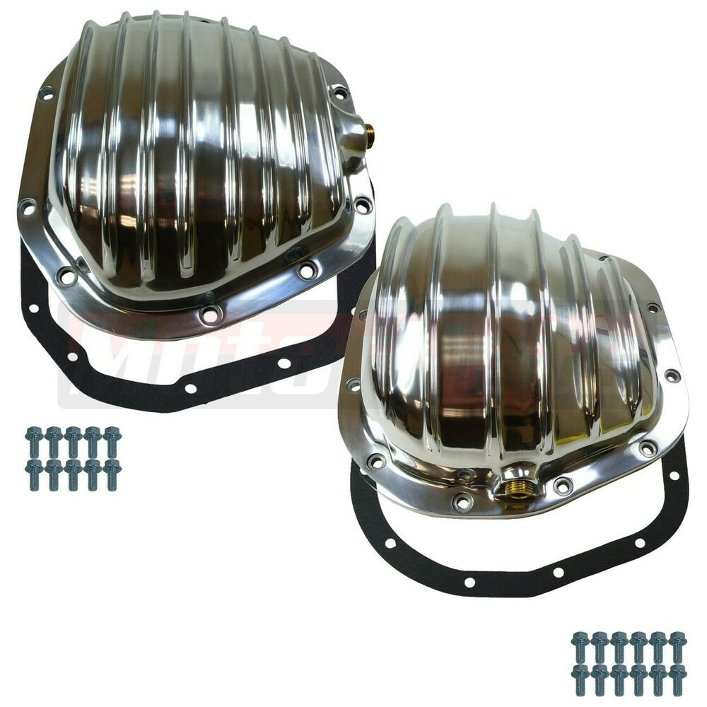 Polished Aluminum Ford Super Duty F-250 F-350 & Excursion Differential Cover Kit | eBay