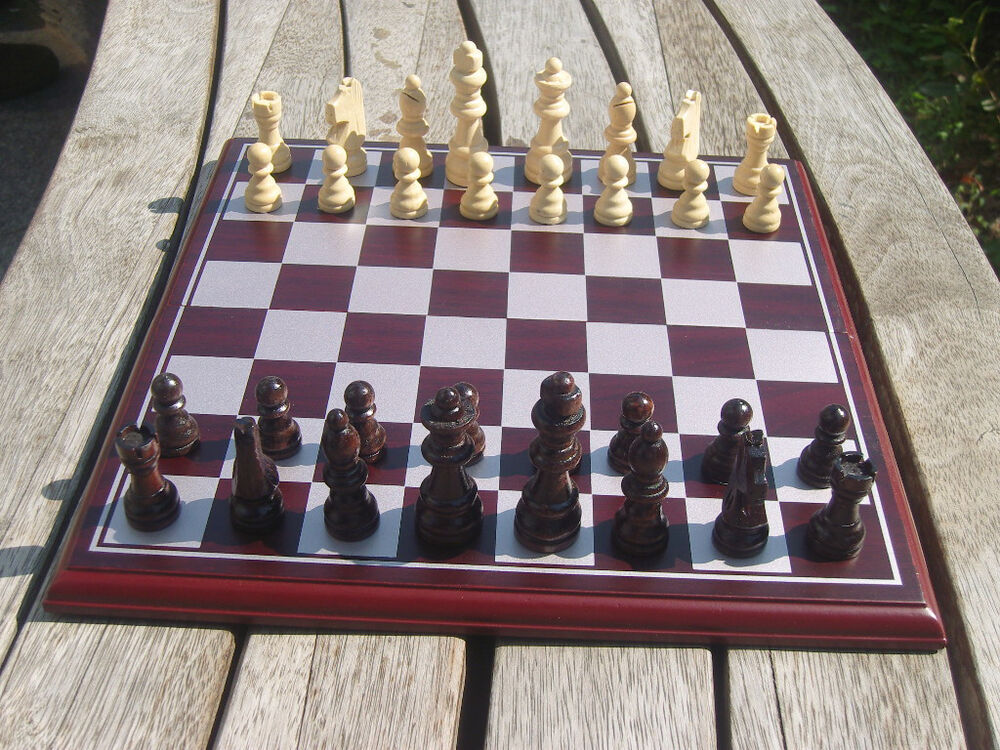 11 inch folding wooden chess set wood pieces table board for 11 inch table