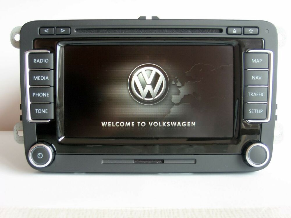 2017 vw rns 510 led t hw32 sw5274 navigation golf passat cc tiguan polo scirocco ebay. Black Bedroom Furniture Sets. Home Design Ideas