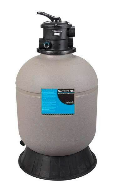 Aqua ultraviolet ultima ii 4000 filter with 1 5 inch valve for 100 gallon pond filter