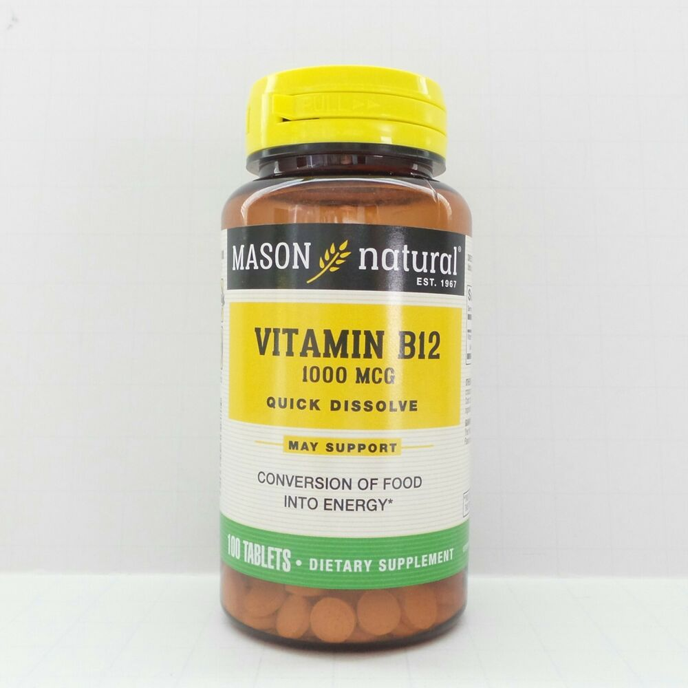 100 tablets vitamin b 12 1000 mcg sublingual heart health b12 b 12 ebay. Black Bedroom Furniture Sets. Home Design Ideas