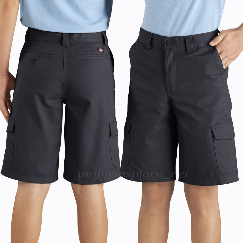 Dickies Boys Shorts School Uniform Cargo Pocket short 10 ...
