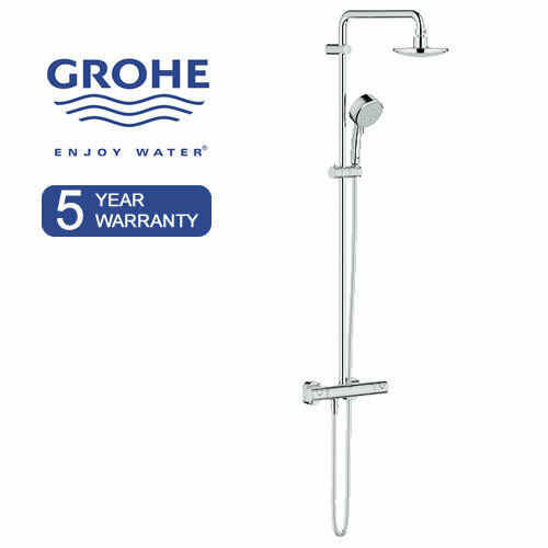 euphoria rainshower grohe thermostat dusch armatur system. Black Bedroom Furniture Sets. Home Design Ideas