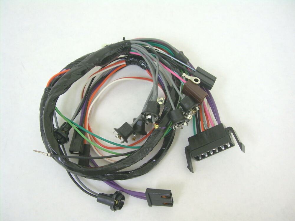 1966 Chevy Impala Ss Caprice Console Wiring Harness
