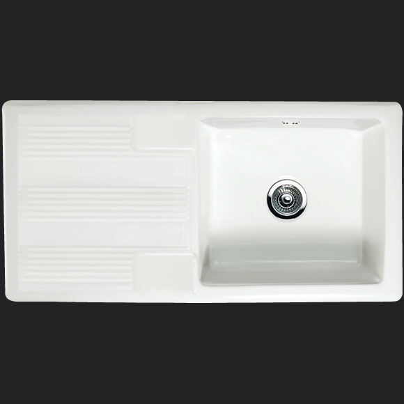 Ceramic Farmhouse Sink : Rak Ceramic Gourmet 4 1.0 Single Bowl Farmhouse Sink eBay