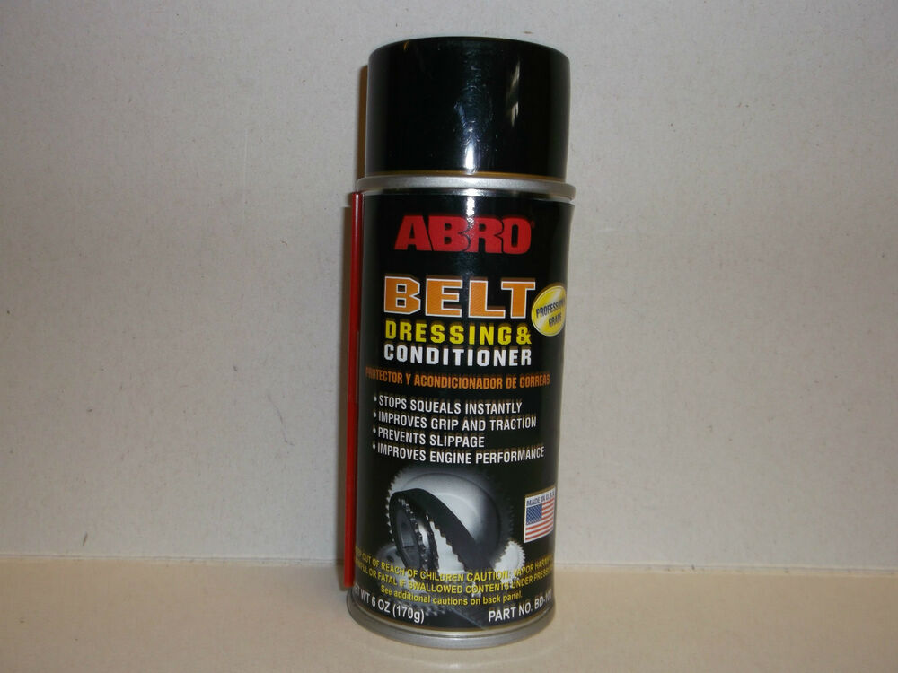 abro belt dressing and conditioner extends of all