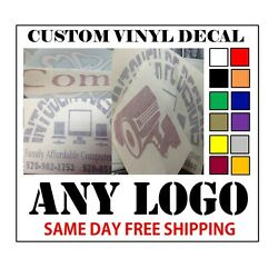 Kyпить CUSTOM VINYL DECALS / STICKER - ANY LOGO OR IMAGE - FAST FREE SHIPPING на еВаy.соm