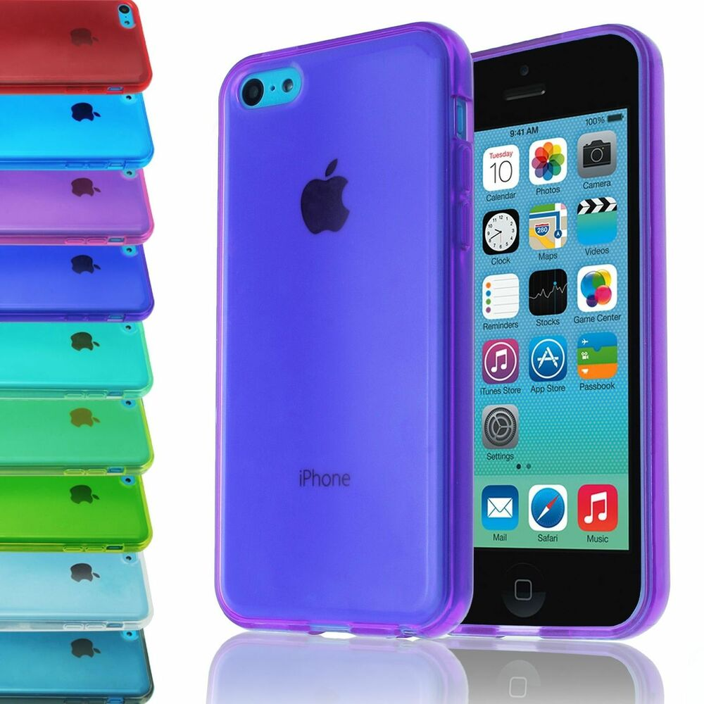 iphone 5c covers slim gel clear thin soft transparent back cover for 11092