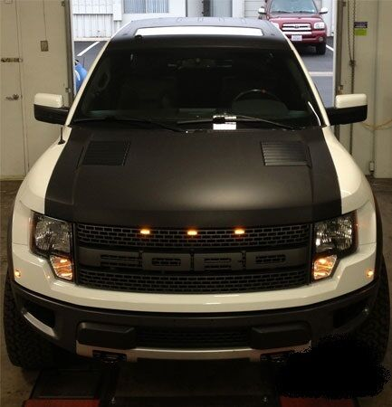 Ford Window Sticker >> wrap film for Ford Raptor hood graphics | eBay