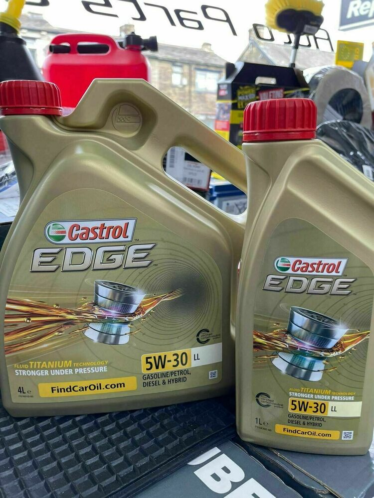 castrol edge genuine 5w 30 long life fully synthetic acea c3 vw merc 5 ltr ebay. Black Bedroom Furniture Sets. Home Design Ideas