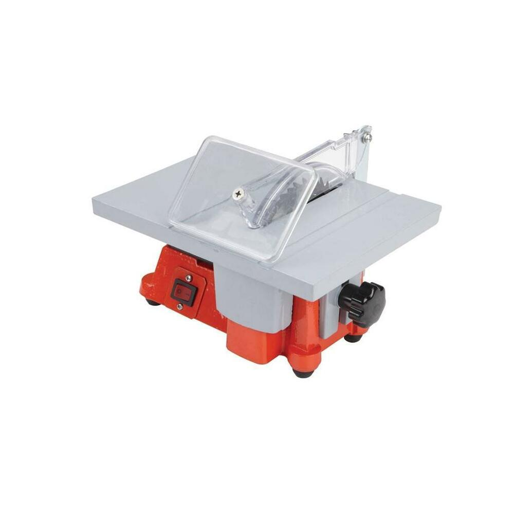 New 4 Quot Mini Electric Hobby Craft Table Saw Ebay