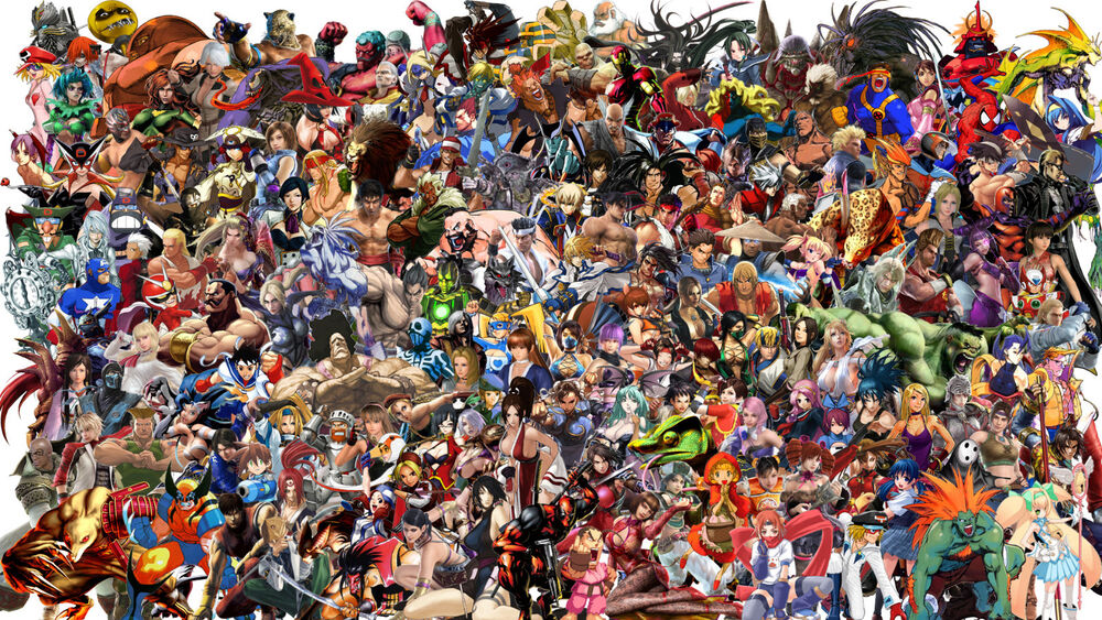 Arcade Game Wallpaper Group With 57 Items: Street Fighter Characters