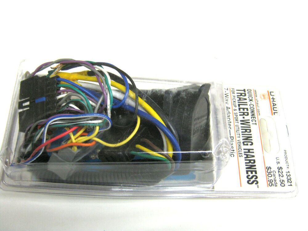 s l1000 uhaul quick connect trailer wiring harness 13321 ~ ebay quick connect trailer wiring harness at crackthecode.co