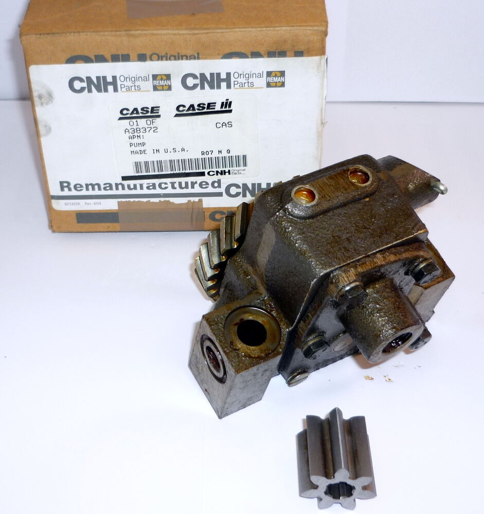Brand new genuine case engine oil pump construction for Case of motor oil prices