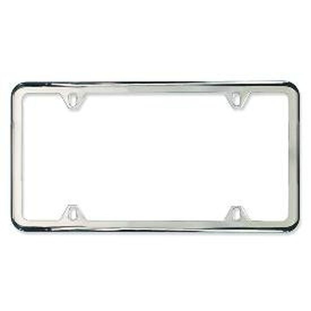 genuine oem bmw slimline license plate frame polished finish. Cars Review. Best American Auto & Cars Review
