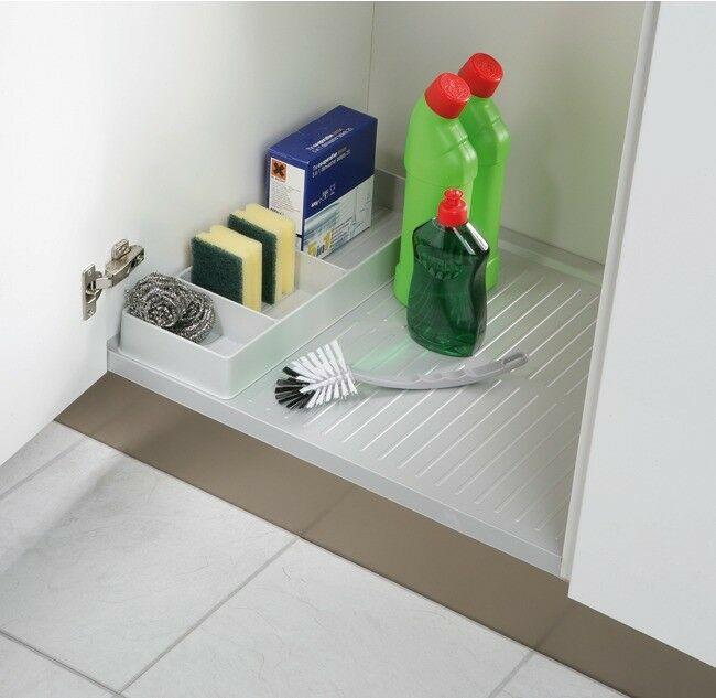 Kitchen sink base unit liner shelf protector 500 1200mm for Kitchen base unit shelf