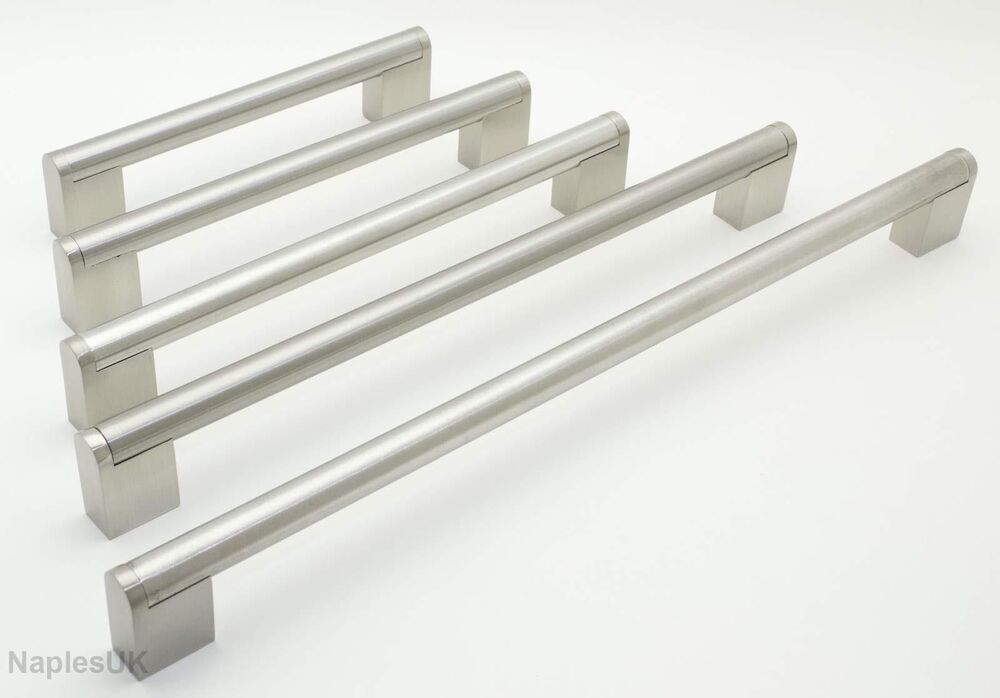 Boss bar brushed stainless steel kitchen cupboard drawer for 110mm kitchen door handles