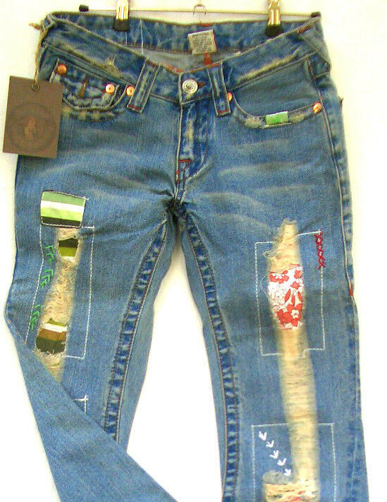 true religion damen jeans gr e w26 modell woodstock neu ebay. Black Bedroom Furniture Sets. Home Design Ideas