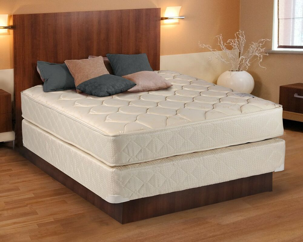 fort Classic Gentle Firm Full size Mattress and Box