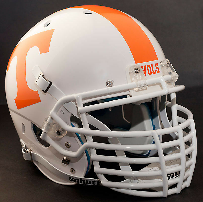 Football Helmet Stickers : Custom tennessee volunteers schutt air xp replica