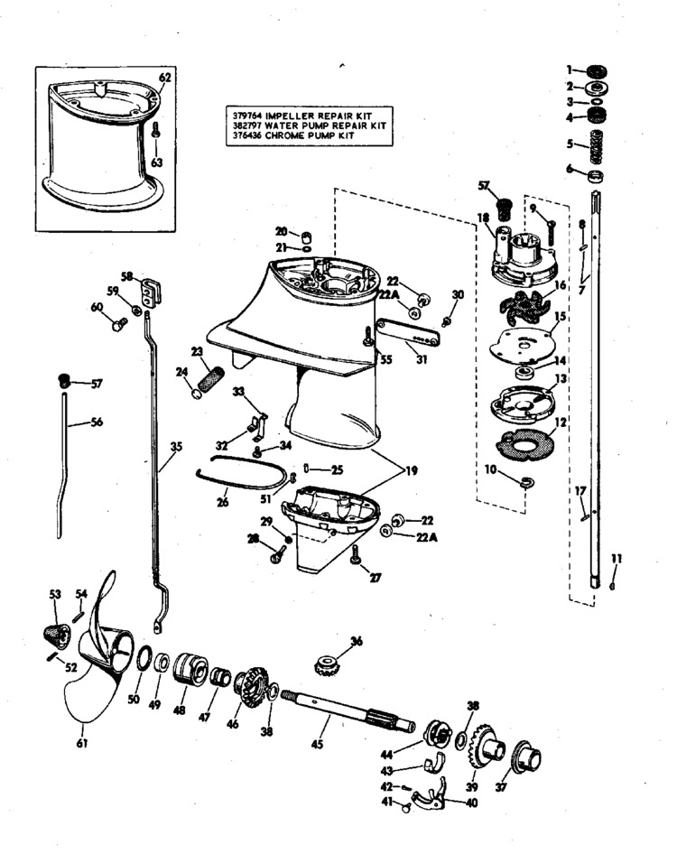 evinrude e tec parts diagram