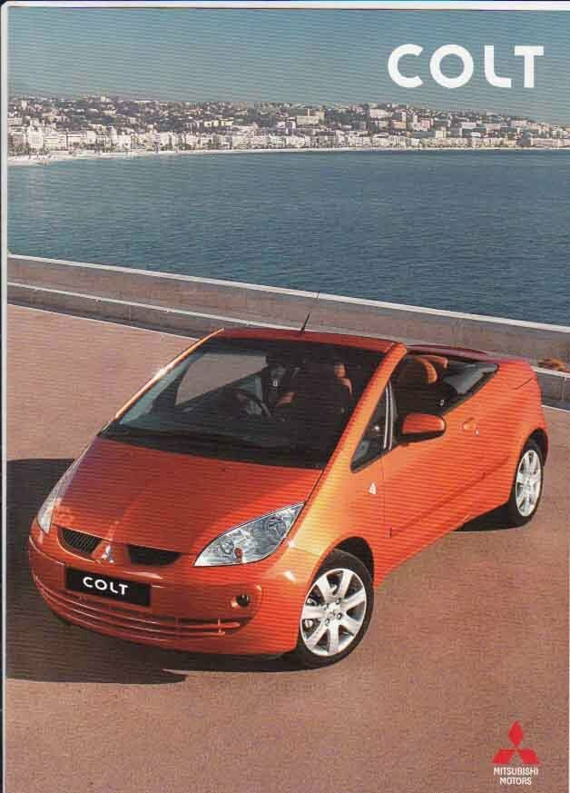 2006 mitsubishi colt cabriolet australian brochure convertible ebay. Black Bedroom Furniture Sets. Home Design Ideas