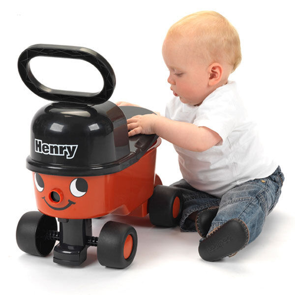 Hunting Toys For Little Boys : Casdon henry red sit n ride hoover car vehicle drive boys