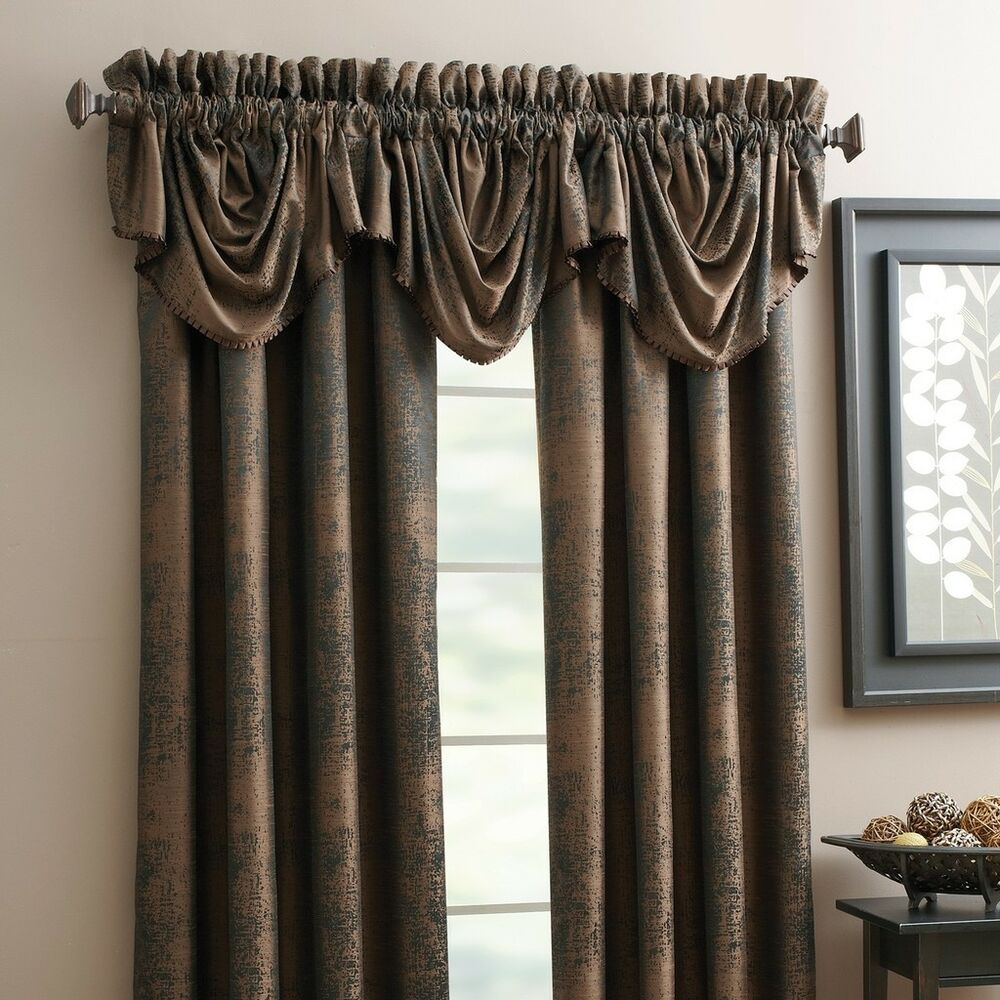 Chapel Hill By Croscill Lined Swag Valance Burgundy Color Exeter NIP ...