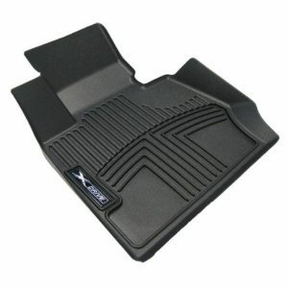 Bmw Car Mats Ebay >> BMW X5, X6 3-layer thermoplastic FRONT BLACK Floor Liners ...
