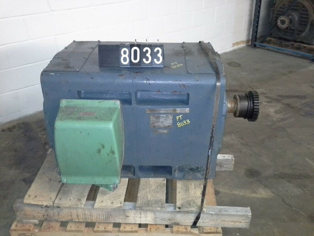 Westinghouse Ultra Shield 300 Hp Ac Induction Motor 4000v