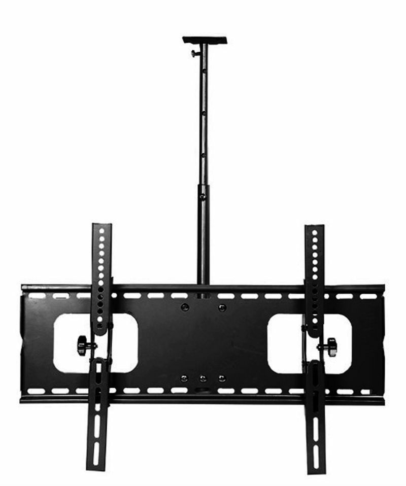"Lcd Ceiling Mount: 32 To 60"" Plasma/LCD TV Ceiling Mount Bracket In Black"
