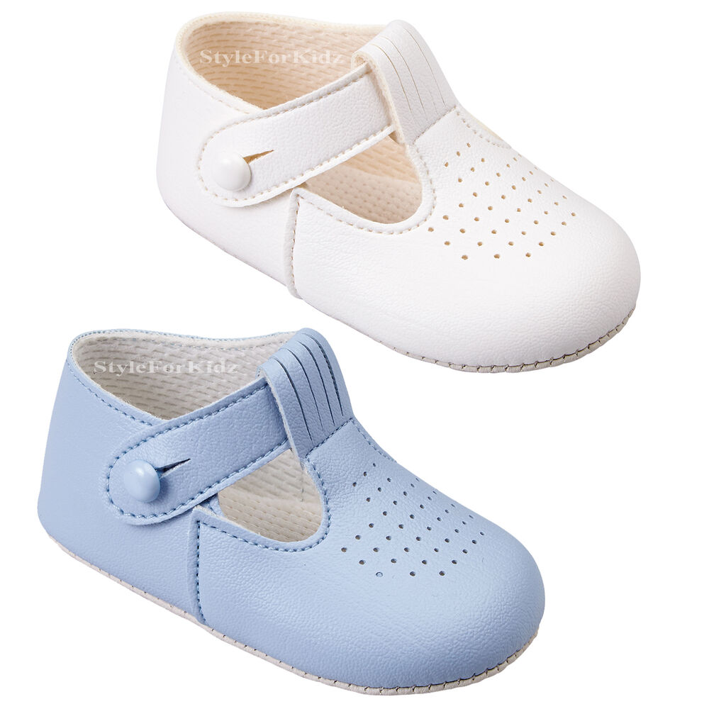 BABY BOYS SHOES CHRISTENING WEDDING BABY PRAM SHOES
