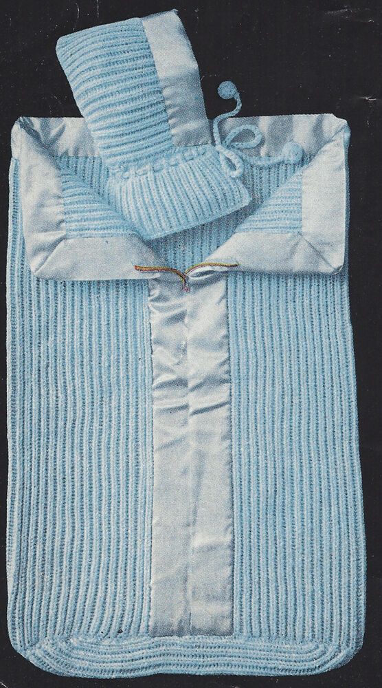 Free Knitted Baby Sleeping Bag Patterns Mount Mercy