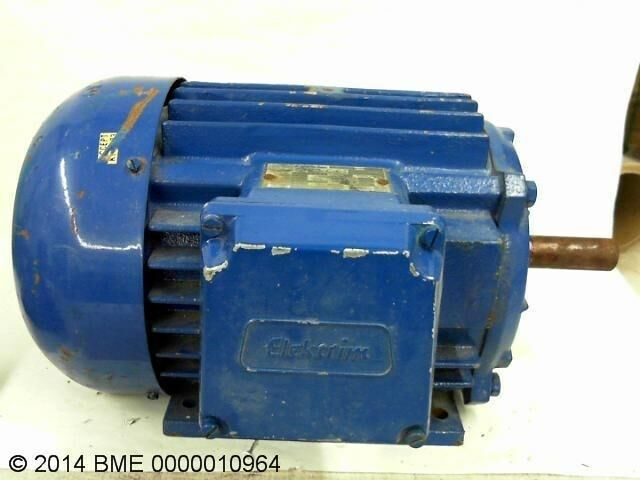 Elektrim 230 460v lr40599 electric ac motor 1 hp 3 phase Ac motor 1 hp