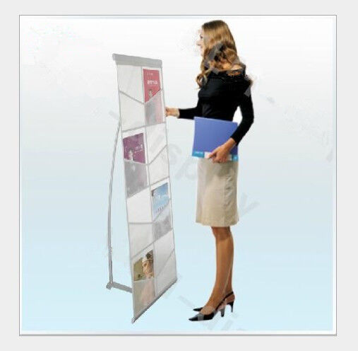 Exhibition Stand Carry Cases : A portable folding exhibition double lane brochure