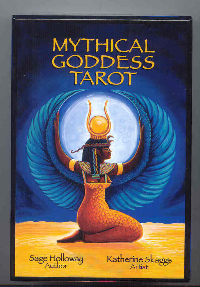 Beautiful Mythical Goddess Tarot Deck By Katherine Skaggs