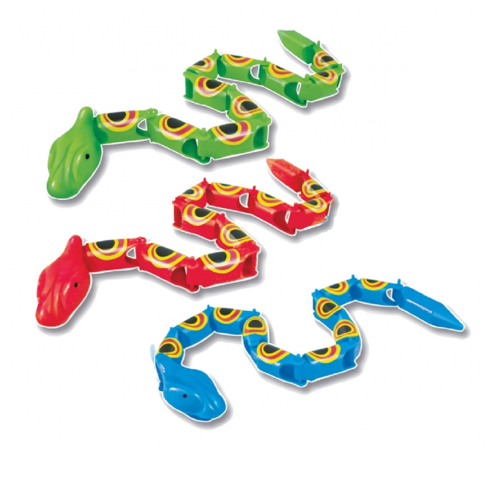 Snake Toys For Boys : Plastic sneaky snakes toys bendy loot party bag fillers