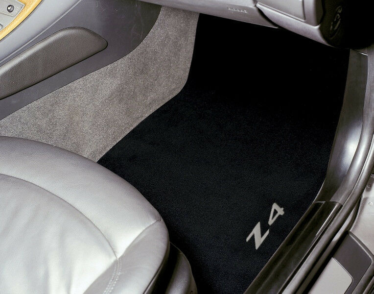 Genuine Bmw Z4 Embroidered Black Floor Mats 2009 2012