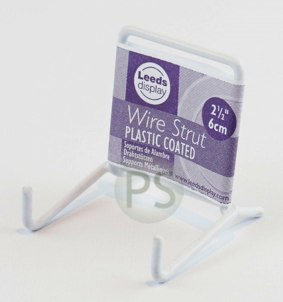 Exhibition Stand Leeds : White wire mini plate picture stand cm quot leeds display