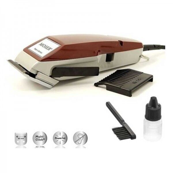 new moser 1400 classic professional hair trimmer clipper 220 240v ebay. Black Bedroom Furniture Sets. Home Design Ideas