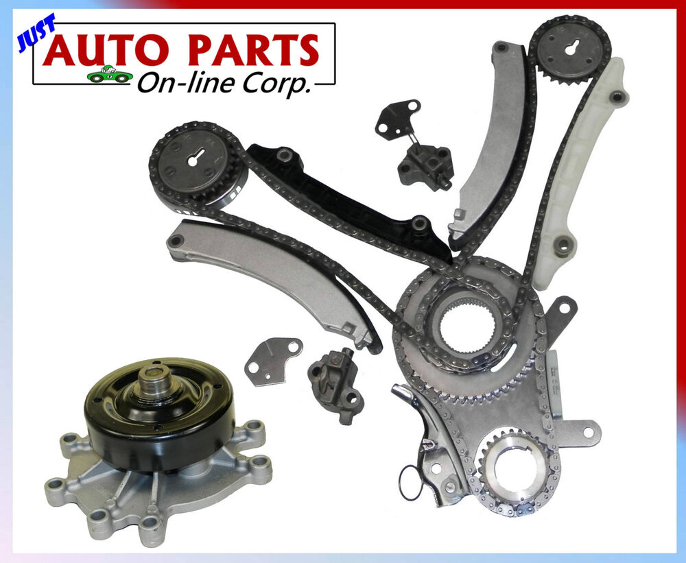 timing chain kit water pump v6 3 7l dodge ram 1500 2002. Black Bedroom Furniture Sets. Home Design Ideas