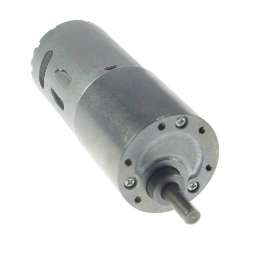 12vdc 6rpm ouput speed geared gearhead box motor high for High speed high torque electric motor