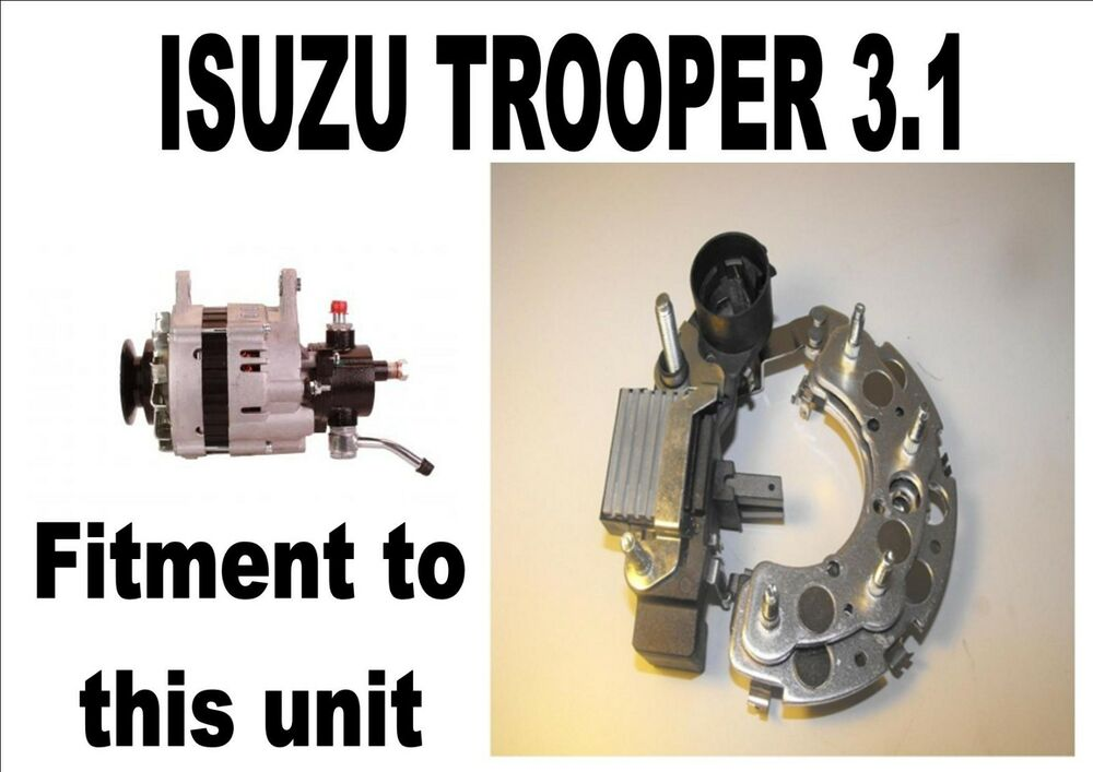 New Isuzu Trooper 3 1 Diesel Alternator Repair Pack    Kit
