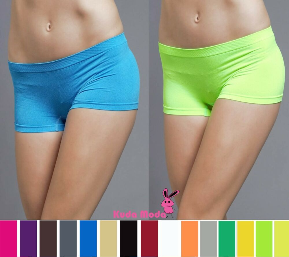 SOFT STRETCH DANCE EXERCISE YOGA MINI PANTIES BODY BRIEFS