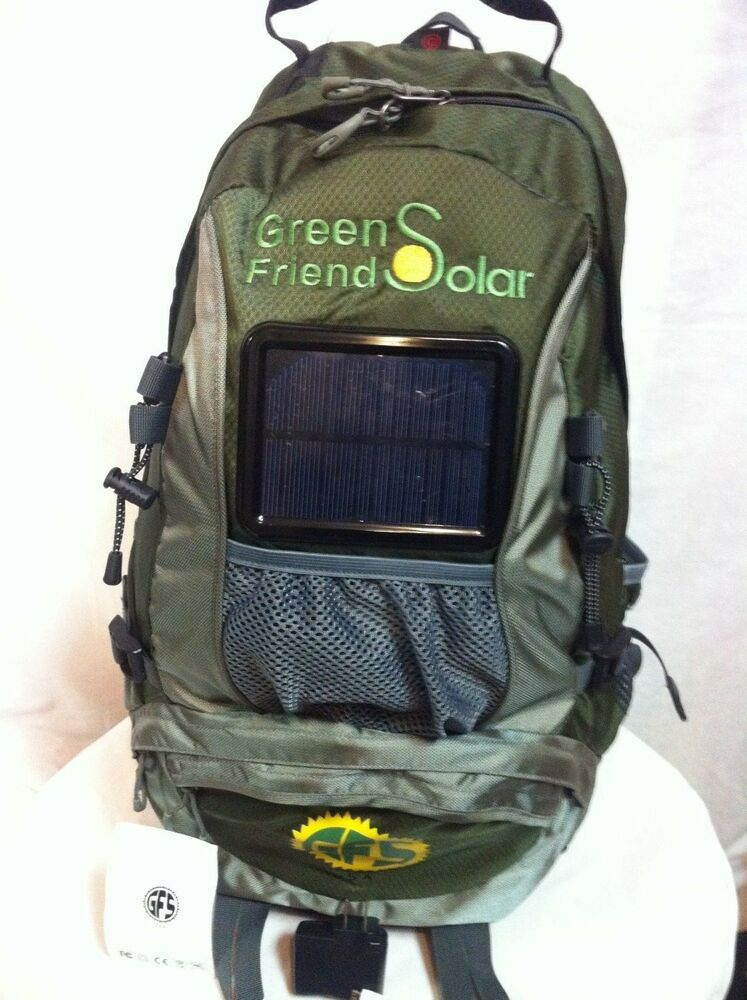 Solar Charger Backpack With Universal Usb Ebay