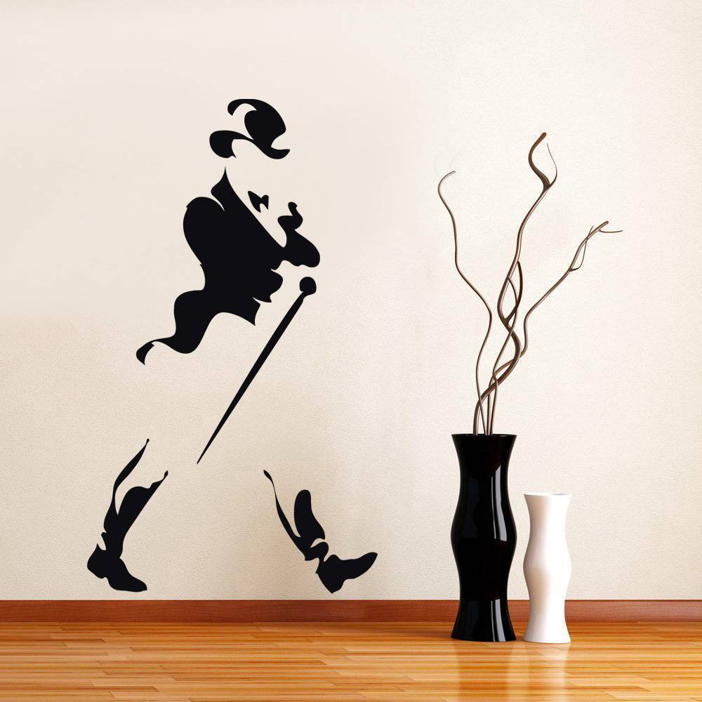 Johnny Walker Logo Decal Wall Sticker Home Art All Colors