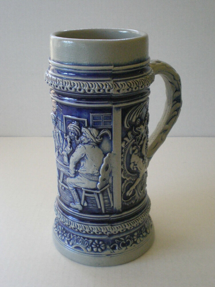 Vintage West Germany Lidded Beer Stein | eBay |Vintage West Germany Beer Steins