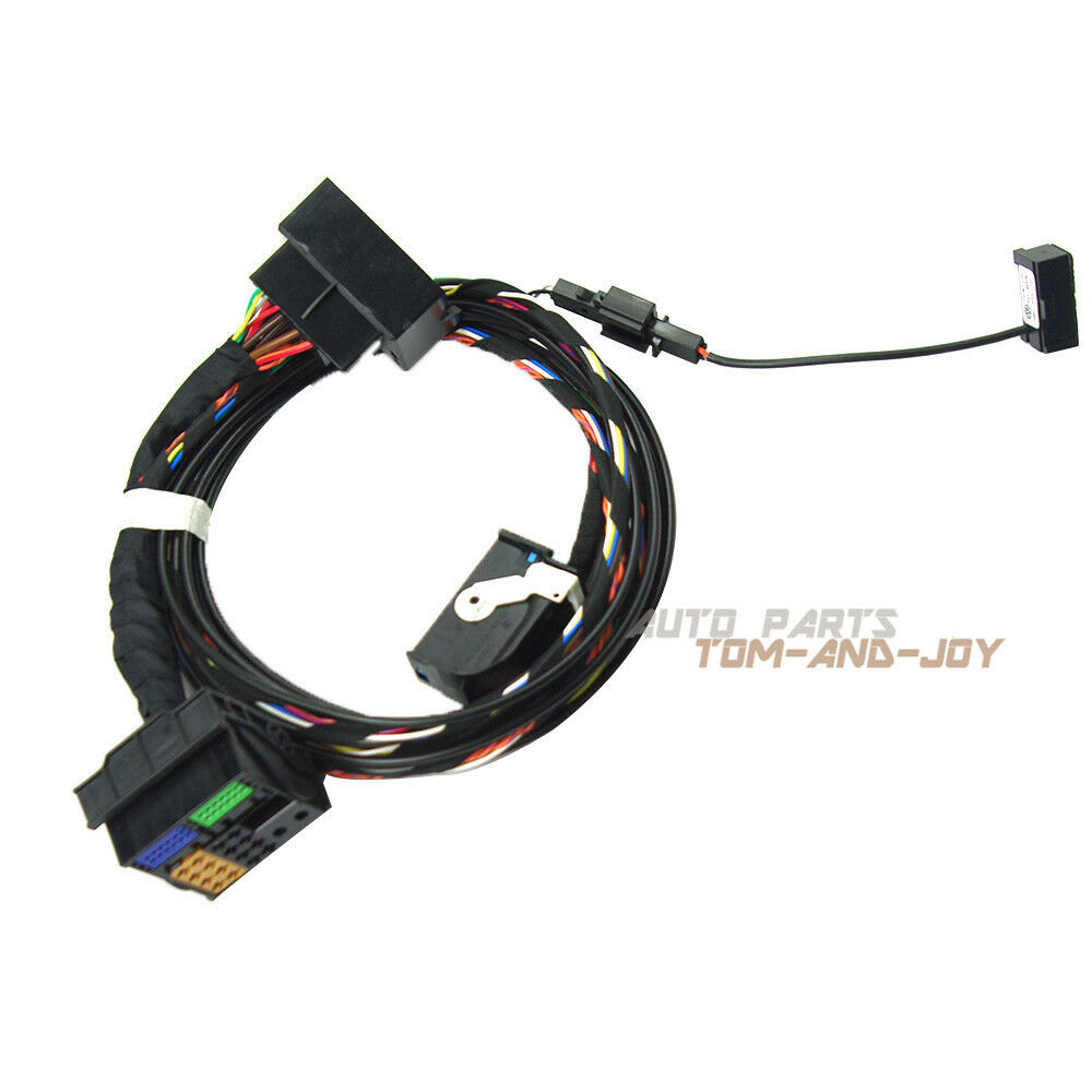 engine wiring harness headlight wiring harness bluetooth wiring harness with plug for vw rns510 bluetooth ... vr500cs bt wiring harness #7