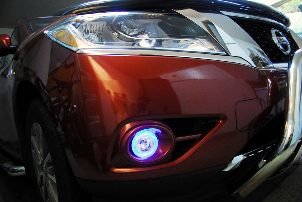 Xenon Halogen Halo Fog Lamps Driving Lights For 2013 2015