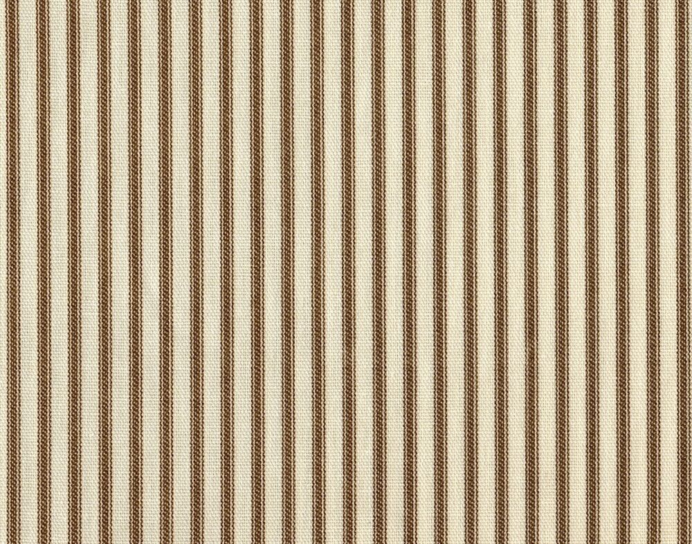 72 french country ticking stripe suede brown fabric for Ticking fabric